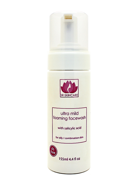foaming cleanser with salicylic
